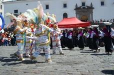 Representación fiesta indígena